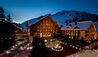 The Chedi Andermatt :  Exterior at Night