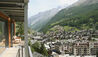 View Of Zermatt From Omnia Roof Suite Balcony