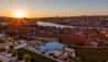 The Yeatman : Sunset View of Porto from The Hotel