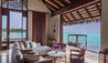 One&Only Reethi Rah, Maldives : Grand Water Villa with Pool Living Room
