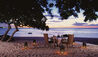 The Oberoi Beach Resort, Mauritius : Candlelit Dinner On The Beach