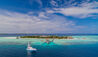 Four Seasons Private Island Maldives at Voavah : Aerial View - Arrival Jetty