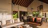 Four Seasons Private Island Maldives at Voavah : Living Room, Three-bedroom Beach Villa