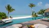 Four Seasons Private Island Maldives at Voavah : Three-bedroom Beach Villa - Pool & Beach