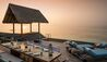 Four Seasons Private Island Maldives at Voavah : Two-bedroom Water Villa - Outdoor Deck (sunset)