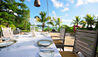 MAIA Luxury Resort & Spa : Beachfront Dining