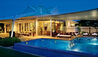 The Ritz-Carlton, Bahrain : Sea View Villa With Pool At Night