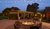 Bernardus Lodge and Spa : Firepit Poolside Plaza
