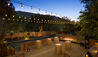 Bernardus Lodge and Spa : Terrace at night with candlelit tables