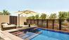 Park Hyatt Abu Dhabi Hotel & Villas : Garden View Suite Terrace With Plunge Pool