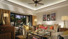 The Leela Goa : The Leela Goa Lagoon Suite Lounge Area