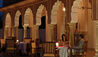 The Oberoi Rajvilas : Rajmahal Outdoor Dining