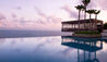 Infinity Pool With Sunset Cabana