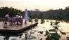 Four Seasons Resort Bali at Sayan : Romantic Dinner On The Rooftop Lotus Pond