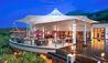 The St. Regis Bali Resort : Boneka Restaurant Exterior at Dusk