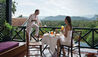 Belmond La Residence Phou Vao : Private Breakfast On The Suite Terrace