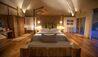 Master Bedroom In Cabin At Chena Huts