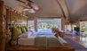 Master Bedroom In Cabin