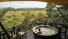 Four Seasons Tented Camp Golden Triangle : Four Seasons Tented Camp Golden Triangle: Private Balcony and Tub