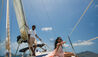 Paradise Beach Nevis : Sailing