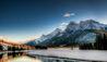 Rocky Mountaineer : Snowy Scenery