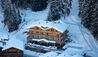 The Lodge At Verbier : Aerial View Of The Lodge