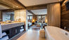 The Lodge At Verbier : Master Suite Bathroom