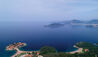 Aman Sveti Stefan : Aerial View of Aman Sveti Stefan and Surroundings