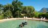 Babylonstoren : Children in Outdoor Pool