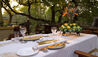 Camp Jabulani : Outdoor Dining At Camp Jabulani