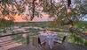 Dulini Leadwood Lodge : Dining On The Viewing Deck