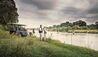 Dulini Lodge : Safari Stop Next To The River