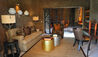 Earth Lodge, Sabi Sabi : Amber Presidential Suite Lounge Area