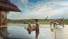 Madikwe Hills Private Game Lodge : Private Pool Overlooking the Bush