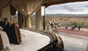 Madikwe Hills Private Game Lodge : Lodge Bedroom with View of the Bush