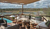 Azura Selous : Lower Deck Lounge with View of River