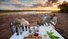 Azura Selous : Supper and Drinks at Sunset