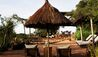 Singita Faru Faru Lodge : Outdoor Lounge Area