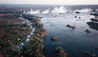 The Royal Livingstone Victoria Falls Zambia Hotel by Anantara : Aerial View of Surrounding Landscape
