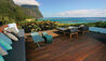 Capella Lodge : Terrace With Ocean View