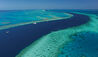 Qualia, Great Barrier Reef : Aerial View Of The Great Barrier Reef