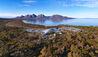 Saffire Freycinet, Tasmania : Aerial View