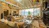 Matakauri Lodge : Owners Cottage Lounge
