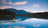 Fairmont Jasper Park Lodge : Canoeing On The Lake