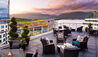 Fairmont Waterfront Hotel : Lounge Terrace
