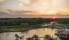 Four Seasons Resort Orlando at Walt Disney World® Resort : Sunset Over The Resort