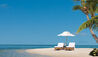 Little Palm Island Resort & Spa : Sun Loungers On The Beach