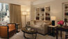 The Peninsula New York : Executive Suite Lounge Area