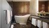 Rosewood Washington D.C. Georgetown : Capella Deluxe Room Bathroom