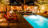 Awasi Hotel : Outdoor Pool By Night